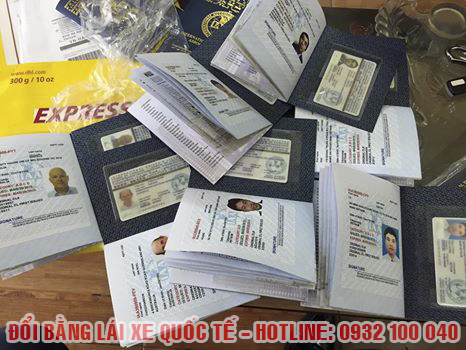 Minh họa: chuyển đổi giấy phép lái xe quốc tế ở Hà Nội