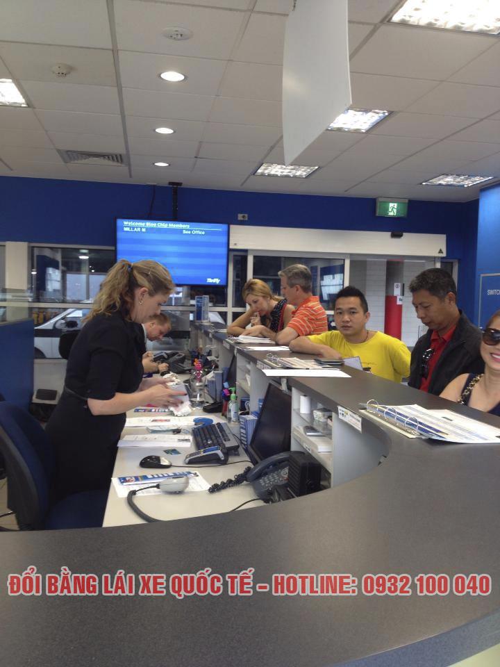 Minh họa: Văn phòng đổi bằng lái xe quốc tế tại Cà Mau