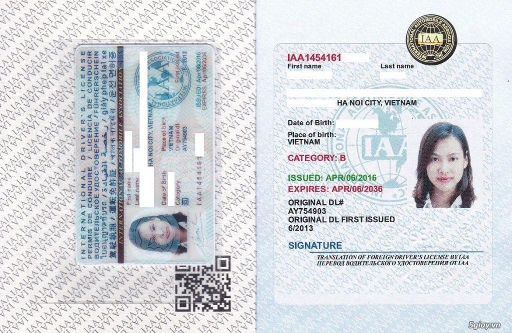 Đổi bằng lái xe quốc tế tại Lạng Sơn - Hotline: 0932 100 040