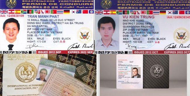 Đổi bằng lái xe quốc tế tại Nam Định - Hotline: 0932 100 040