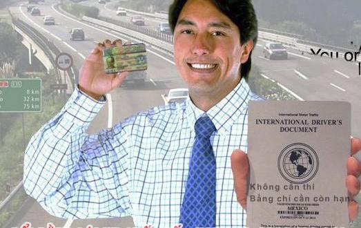 Dịch vụ đổi bằng lái xe quốc tế tại Nghệ An