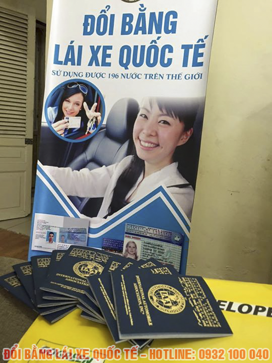 Hướng dẫn đổi bằng lái xe quốc tế tại Thái Bình, 4 ngày có bằng, hạn bằng lên đến 20 năm. Hotline: 0932 100 040