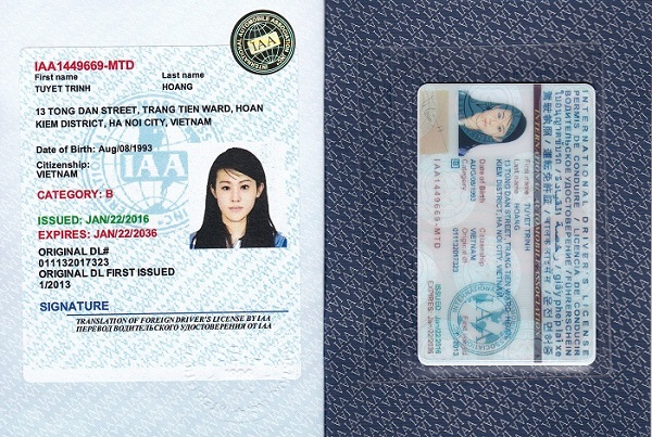 Đổi giấy phép lái xe quốc tế tại Nghệ An