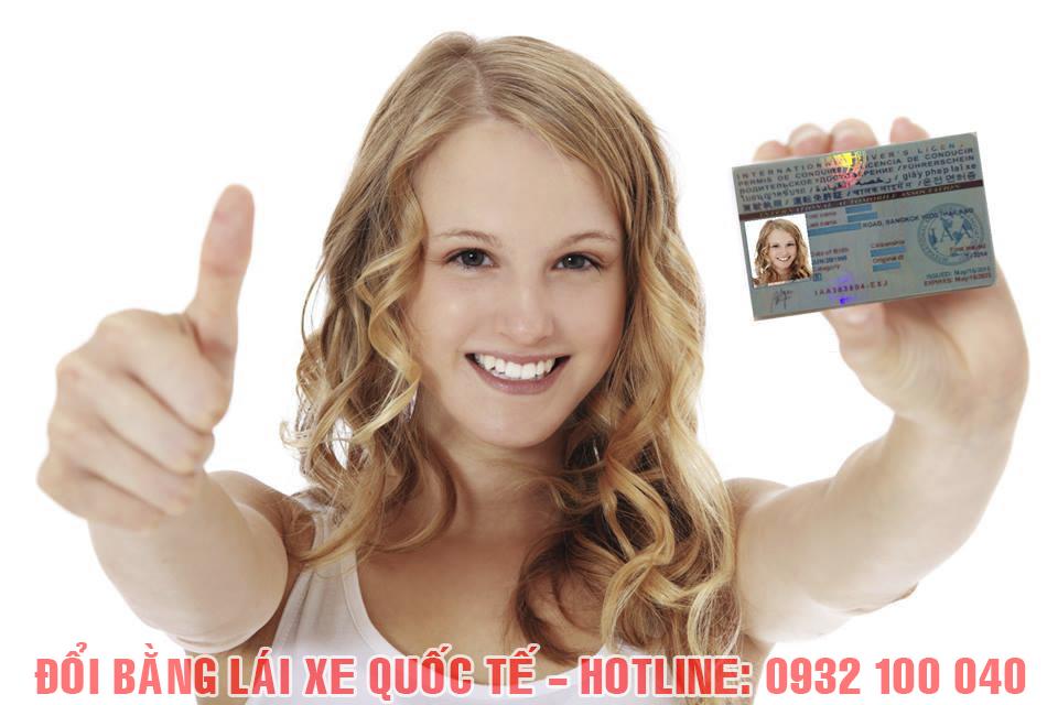 Đổi giấy phép lái xe Việt Nam sang quốc tế