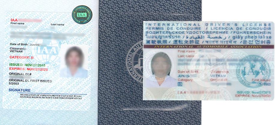 Hướng dẫn thủ tục đổi bằng lái xe quốc tế tại An Giang