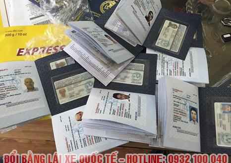 Hướng dẫn thủ tục cấp đổi bằng lái xe quốc tế online qua mạng tại Quảng Bình