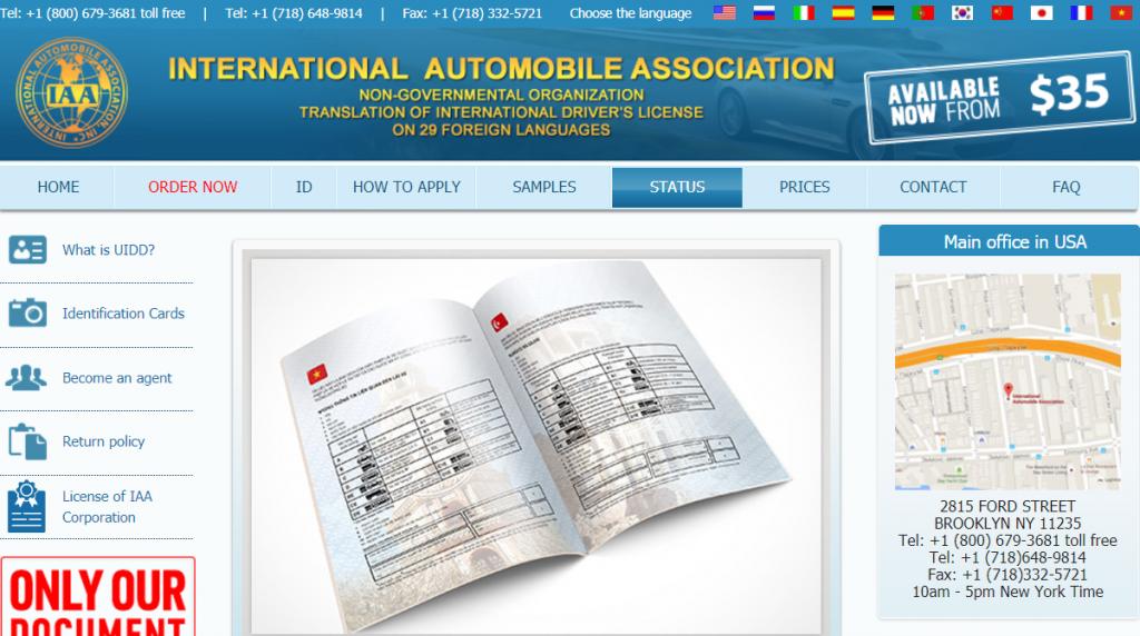 Cách kiểm tra bằng lái xe quốc tế thật hay giả