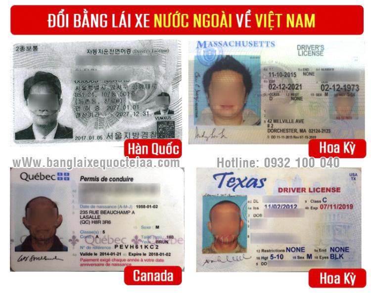 Hướng dẫn chuyển đổi bằng lái xe Hàn Quốc sang Việt Nam - Hotline: 0932 100 040