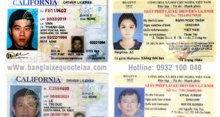 Hướng dẫn thủ tục cấp đổi bằng lái xe Mỹ sang Việt Nam qua mạng cấp tốc, giá rẻ - Hotline/ Zalo/ Viber: 0932 100 040