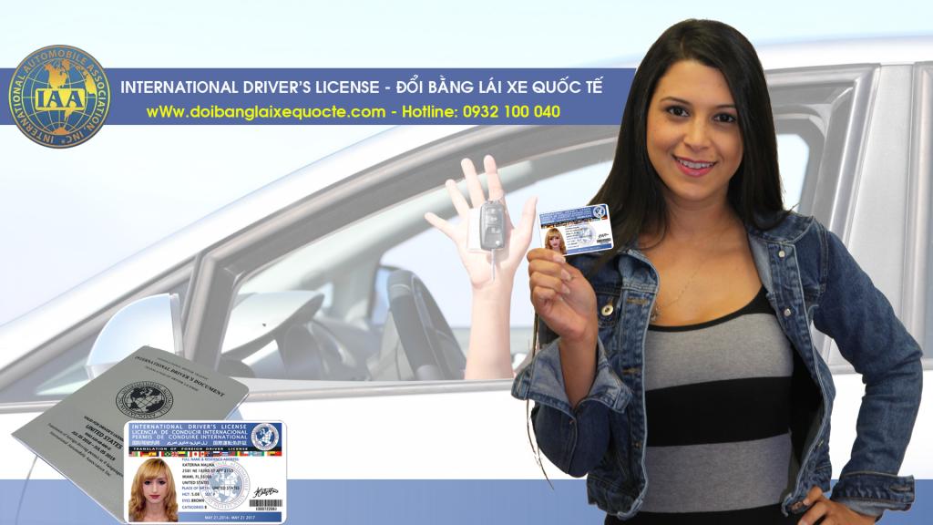 Hướng dẫn cấp đổi bằng lái xe ô tô quốc tế online qua mạng - Liên hệ: 0932 100 040