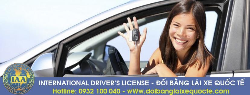 Hướng dẫn cấp đổi bằng lái xe quốc tế tại Bến Tre qua mạng - Hotline/ Zalo/ Viber: 0932 100 040