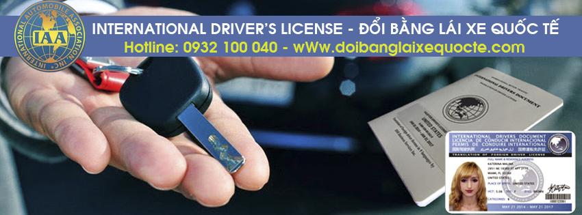 Hướng dẫn đổi bằng lái xe quốc tế tại Bình Phước qua mạng - Hotline/ Zalo/ Viber: 0932 100 040