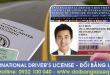 Hướng dẫn thủ tục cấp đổi bằng lái xe quốc tế tại Trà Vinh - Liên hệ: 0932 100 040