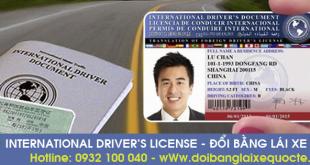 Đổi bằng lái xe quốc tế tại Trà Vinh