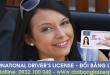 Hướng dẫn thủ tục cấp đổi bằng lái xe quốc tế tại Yên Bái qua mạng - Hotline/ Zalo/ Viber: 0932 100 040