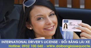 Đổi bằng lái xe quốc tế tại Yên Bái