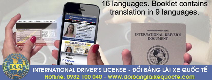 Nhận thủ tục cấp đổi bằng lái xe quốc tế tại Đắk Lắk - Liên hệ: Hotline/ Zalo/ Viber: 0932 100 040