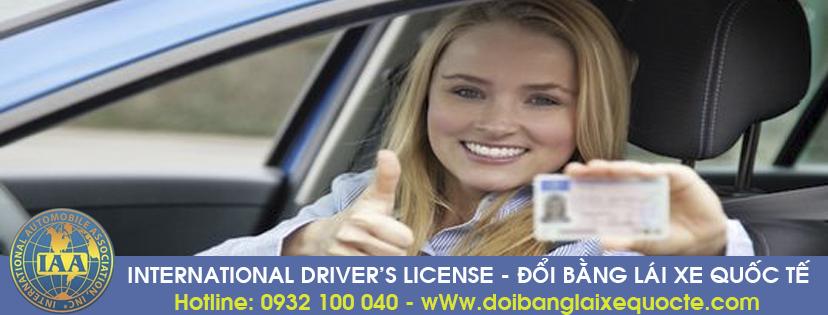 Cấp đổi giấy phép lái xe quốc tế tại Đắk Nông qua mạng