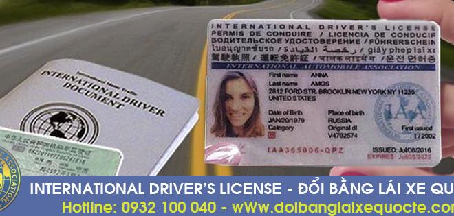 Hướng dẫn cách cấp đổi bằng lái xe ô tô quốc tế qua mạng cấp tốc - Hotline/ Zalo/ Viber: 0932 100 040
