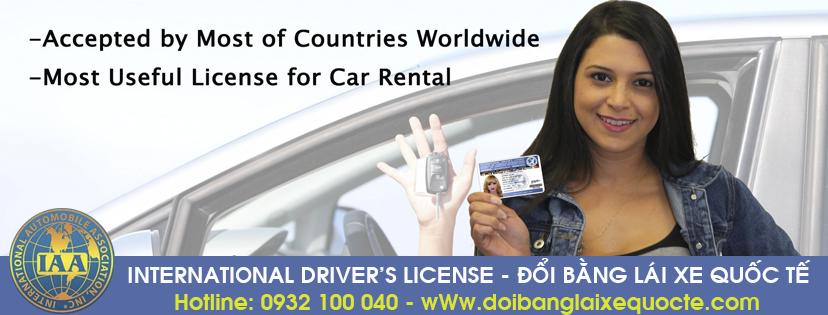 Hướng dẫn cách đổi bằng lái xe ô tô quốc tế qua mạng cấp tốc - Hotline/ Zalo/ Viber: 0932 100 040