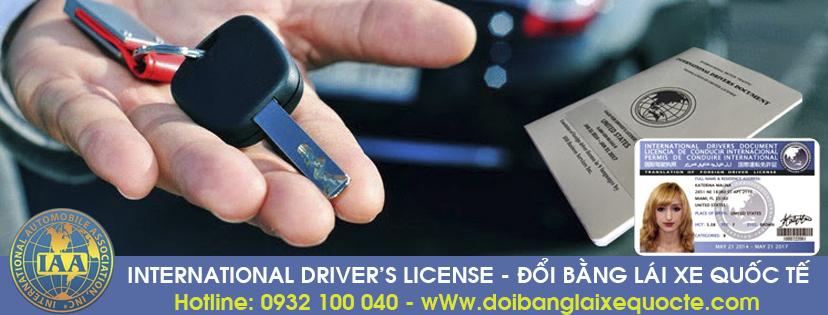Địa chỉ chuyển đổi giấy phép lái xe quốc tế tại TPHCM cấp tốc qua mạng - Hotline/ Zalo/ Viber: 0932 100 040