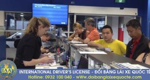 Giải đáp thắc mắc điều kiện đổi bằng lái xe quốc tế qua mạng - Hotline/ Zalo/ Viber: 0932 100 040