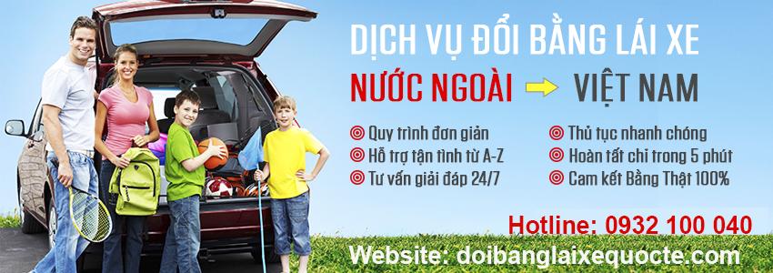 Địa chỉ cấp đổi bằng lái xe Nhật Bản sang Việt Nam qua mạng - Hotline/ Zalo/ Viber: 0932 100 040