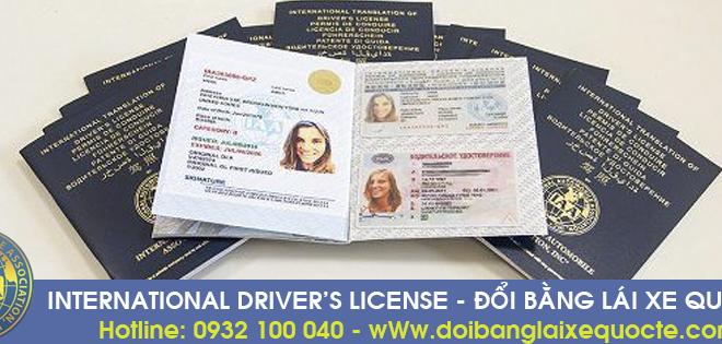 Hướng dẫn cấp đổi bằng lái xe quốc tế giá rẻ qua mạng - Hotline/ Zalo/ Viber: 0932 100 040