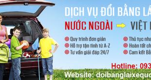 Hướng dẫn thủ tục đổi bằng lái xe Singapore sang Việt Nam qua mạng, cấp tốc, giá rẻ - Hotline/ Zalo/ Viber: 0932 100 040