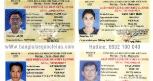 Hướng dẫn thủ tục cấp đổi bằng lái xe Thái Lan sang bằng lái xe Việt Nam qua mạng - Hotline/ Zalo/ Viber: 0932 100 040
