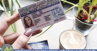 Đổi giấy phép lái xe Ô tô quốc tế IAA qua mạng