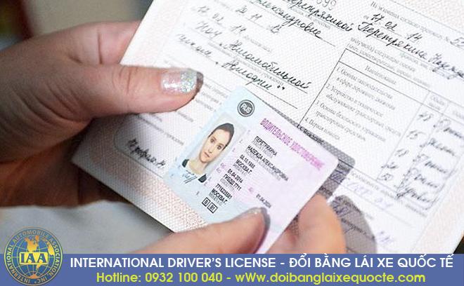 Nhận thủ tục cấp đổi giấy phép lái xe quốc tế cấp tốc qua mạng tại Việt Nam - Hotline/ Zalo/ Viber: 0932 100 040