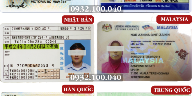 Dịch vụ đổi bằng lái xe cho người nước ngoài cấp tốc, qua mạng - Hotline/ Zalo/ Viber: 0932.100.040