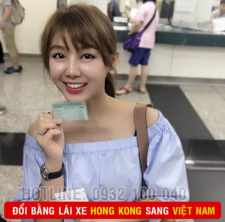 Hướng dẫn cấp đổi bằng lái xe Hồng Kông sang Việt Nam cấp tốc qua mạng - Hotline/ Zalo/ Viber: 0932.100.040