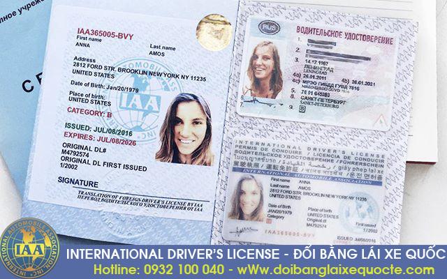 Hướng dẫn đổi bằng lái xe máy sang quốc tế qua mạng - Hotline/ Zalo/ Viber: 0932.100.040