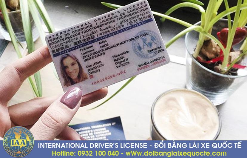 Địa chỉ nhận cấp đổi bằng lái xe máy sang bằng quốc tế cấp tốc, qua mạng - Hotline/ Zalo/ Viber: 0932.100.040