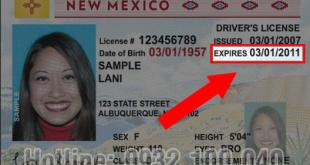 Đổi bằng lái xe Mexico