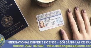 Ở đâu đổi bằng lái xe quốc tế uy tín tại TPHCM?