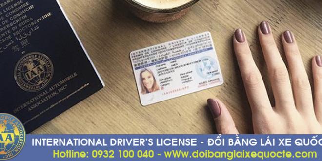 Ở đâu đổi bằng lái xe quốc tế uy tín tại TPHCM - Địa chỉ nhận đổi bằng lái xe quốc tế tại TPHCM - Hotline/ Zalo/ Viber: 0932.100.040