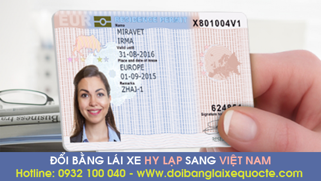 Địa chỉ cấp đổi bằng lái xe Hy Lạp sang bằng Việt Nam cấp tốc - Hotline/ Zalo/ Viber: 0932 100 040
