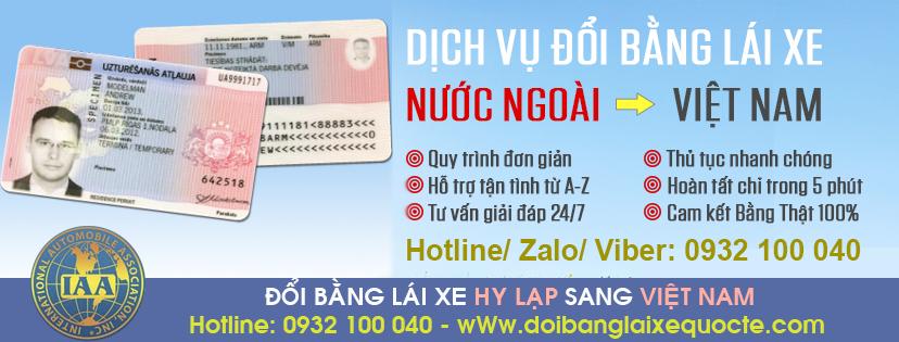 Hướng dẫn đổi bằng lái xe Hy Lạp sang Việt Nam qua mạng - Hotline/ Zalo/ Viber: 0932.100.040
