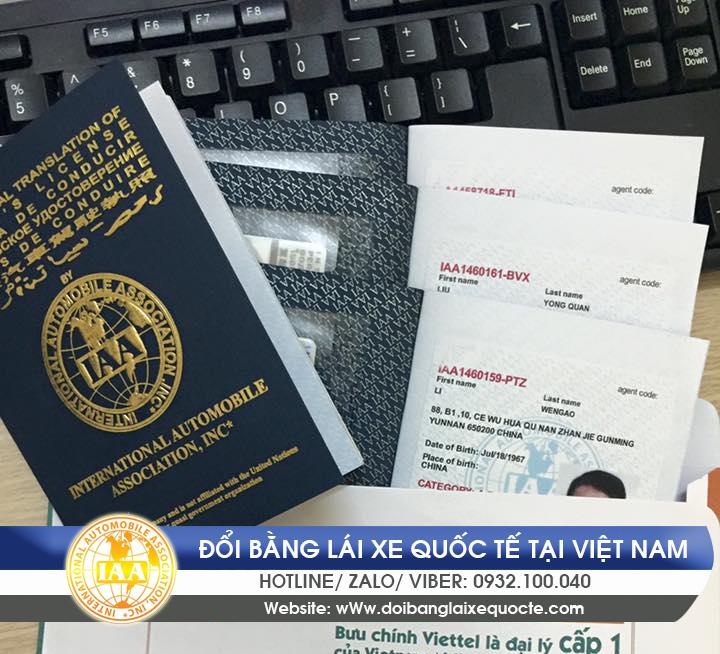 Giấy phép lái xe quốc tế có được sử dụng ở Việt Nam không - Hotline/ Zalo/ Viber: 0932.100.040