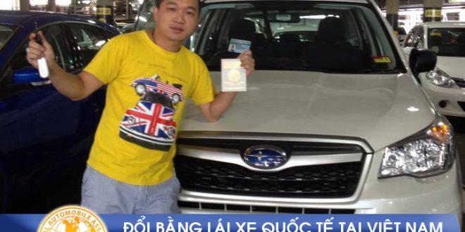 Cấp giấy phép lái xe quốc tế online