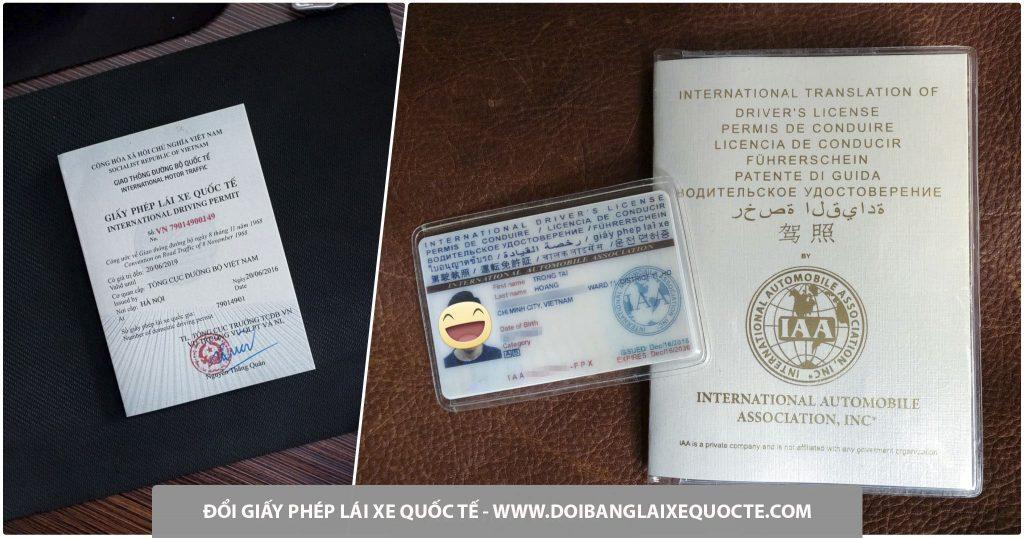 Đổi GPLX quốc tế IAA cấp tốc