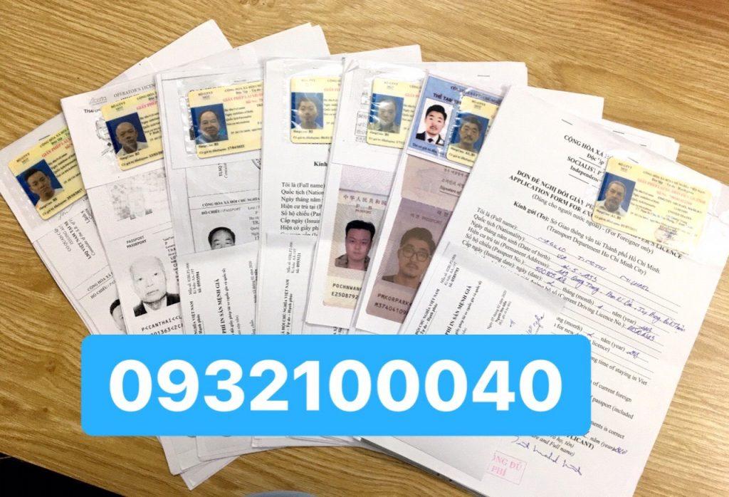 Đổi giấy phép lái xe cho người nước ngoài sang Việt Nam