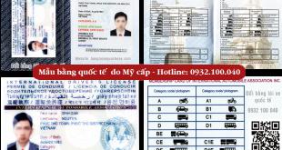 Hướng dẫn cách chuyển đổi thủ tục đổi bằng lái xe máy quốc tế tại TPHCM Việt Nam qua mạng