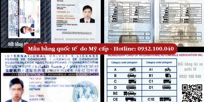 Đổi bằng lái xe quốc tế IAA do Mỹ cấp đi được 192 nước