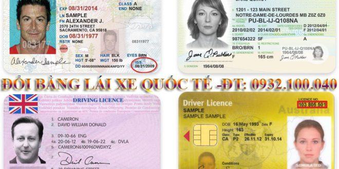 Hướng dẫn thủ tục chuyển đổi bằng lái xe quốc tế sang Việt Nam qua mạng