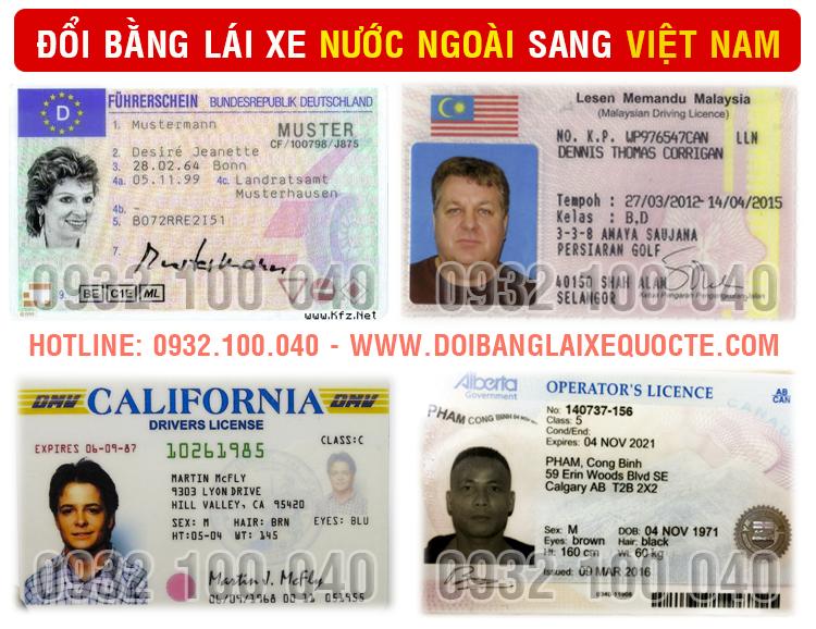 Hướng dẫn thủ tục chuyển đổi giấy phép lái xe cho người nước ngoài tại Bình Dương qua mạng